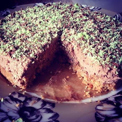 Mint Aero chocolate Cheesecake - Jenny Cheung