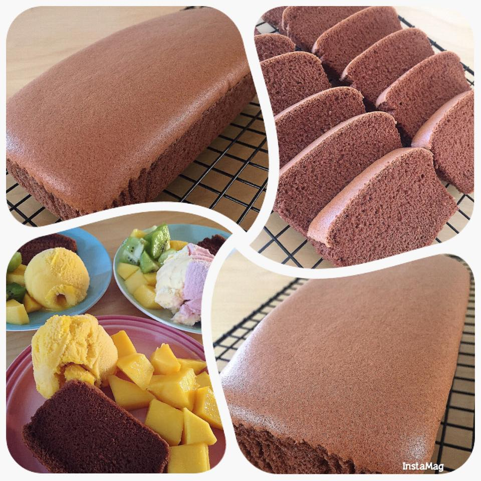 Chocolate Cotton Cake - Polly Wan 1